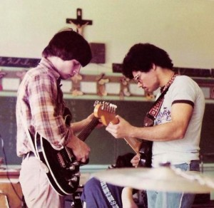 John McGovern & Barry Cannizzaro,  All Saints School 1976