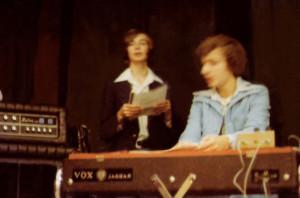 Patt Connolly & Steve Soos - Panczak Wedding reception Nov. 1976
