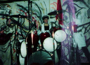 Gerry North at Broadway Joe's, 'Love, Lust & Wreckage' show - 02.14.86