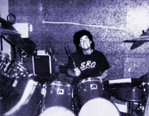Gerry Cannizzaro at 1435 Las Palmas, Hollywood, CA 1988