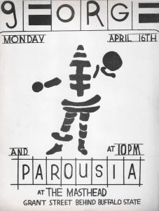 Parousia at the Masthead - April 16th, 1979