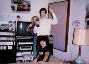 Patt Connolly, Nicole Ashley & Randy Filippone - August,1985