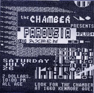 Invite card - the CHAMBER 07.26.1986_v2