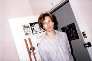 Patt Connolly at 1435 Las Palmas Ave. Hollywood, CA; 1988