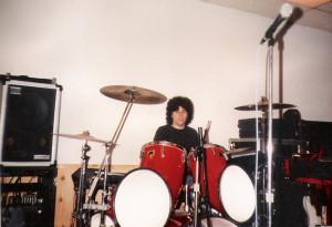 At Uncle Rehearsal in Van Nuys, CA - Dec. 1989