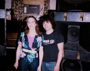 Randy & close friend July-Aug 1985