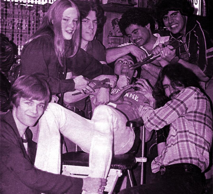 7- at Kims basement July 1979 (1a)b