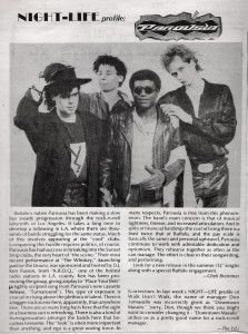Night Life Profile Dec. 19, 1988