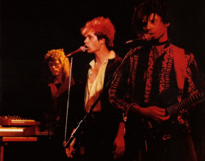Marty, Patt and Bob at The Roxy Theater, W. Hollywood - 06.04.1989