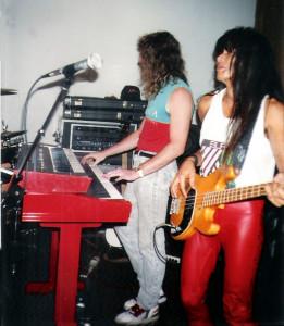 Marty Leggett & Gary Lee - Uncle Rehearsal Studios Dec. 1989