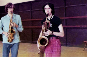 Patt Connolly & Mike Newell - Let's have sax at All Saints 1976