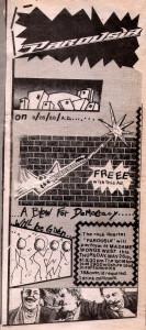 Rock City News Ad - Madame Wong's May 26, 1988