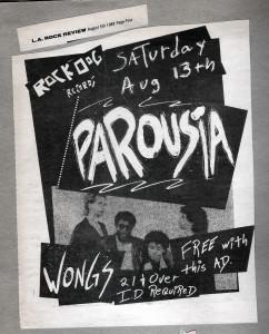 L.A. Rock Review Aug. 05, 1988