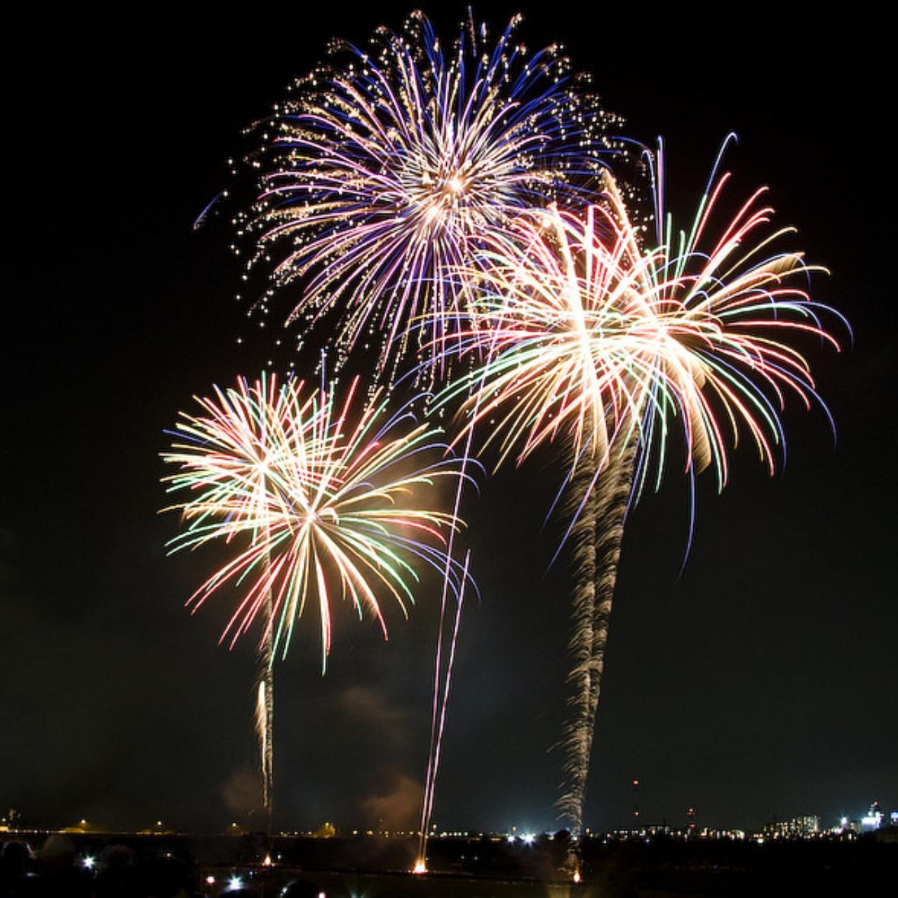 (9) Fireworks at Riverside Park 1