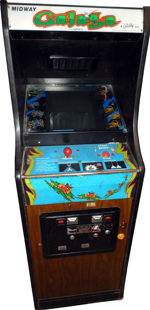 GALAGA arcade game – played with our minds