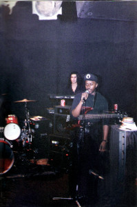 Jeremy Yeremian and Kenny Gray. Uncle rehearsal 01.26.1991