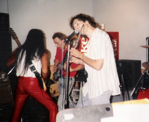 Dec 1989 - Uncle Rehearsal studios with Dudley Taft & Gary Lee