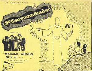 Madame Wongs November 26 1988