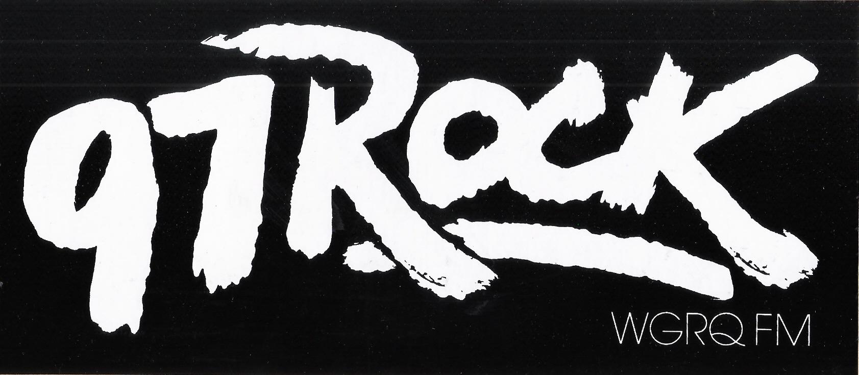 97 Rock Bumper Sticker 1981