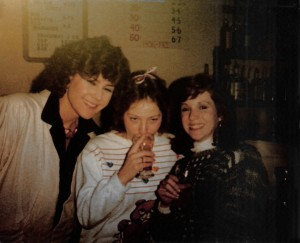 Anne Carncross (left) Sharon (middle) & friend