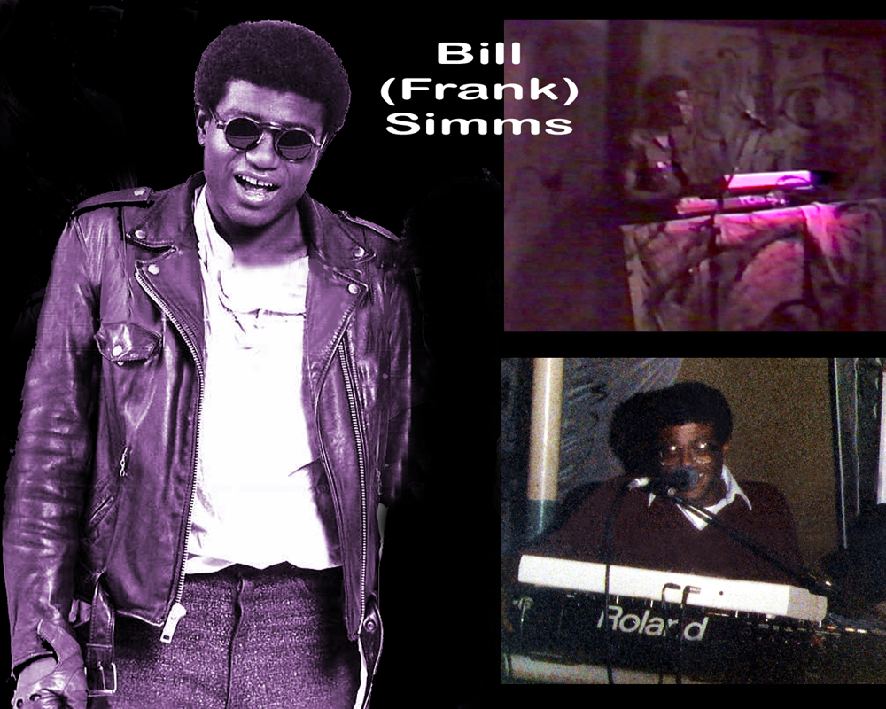 """Parousia veteran Bill """"Frank"""" Simms, is back to play keyboards, 1986"""