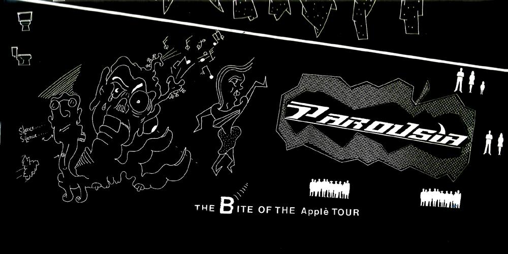 Bite of the Apple tour Oct 1985