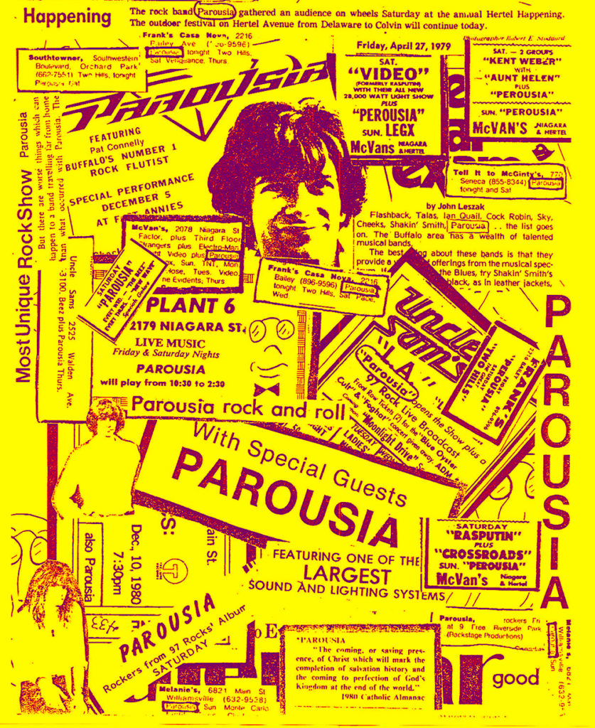 PAROUSIA, coming to a club near you…
