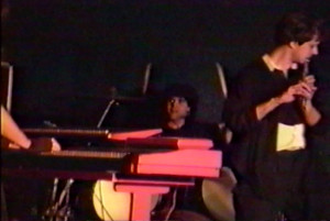 Gerry Cannizzaro & Patt Connolly at Club 88, March 2, 1990