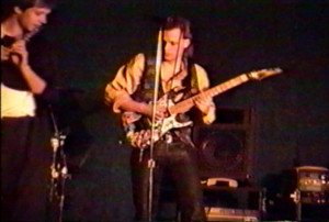 Patt Connolly and Dudley Taft at Club 88, March 2, 1990