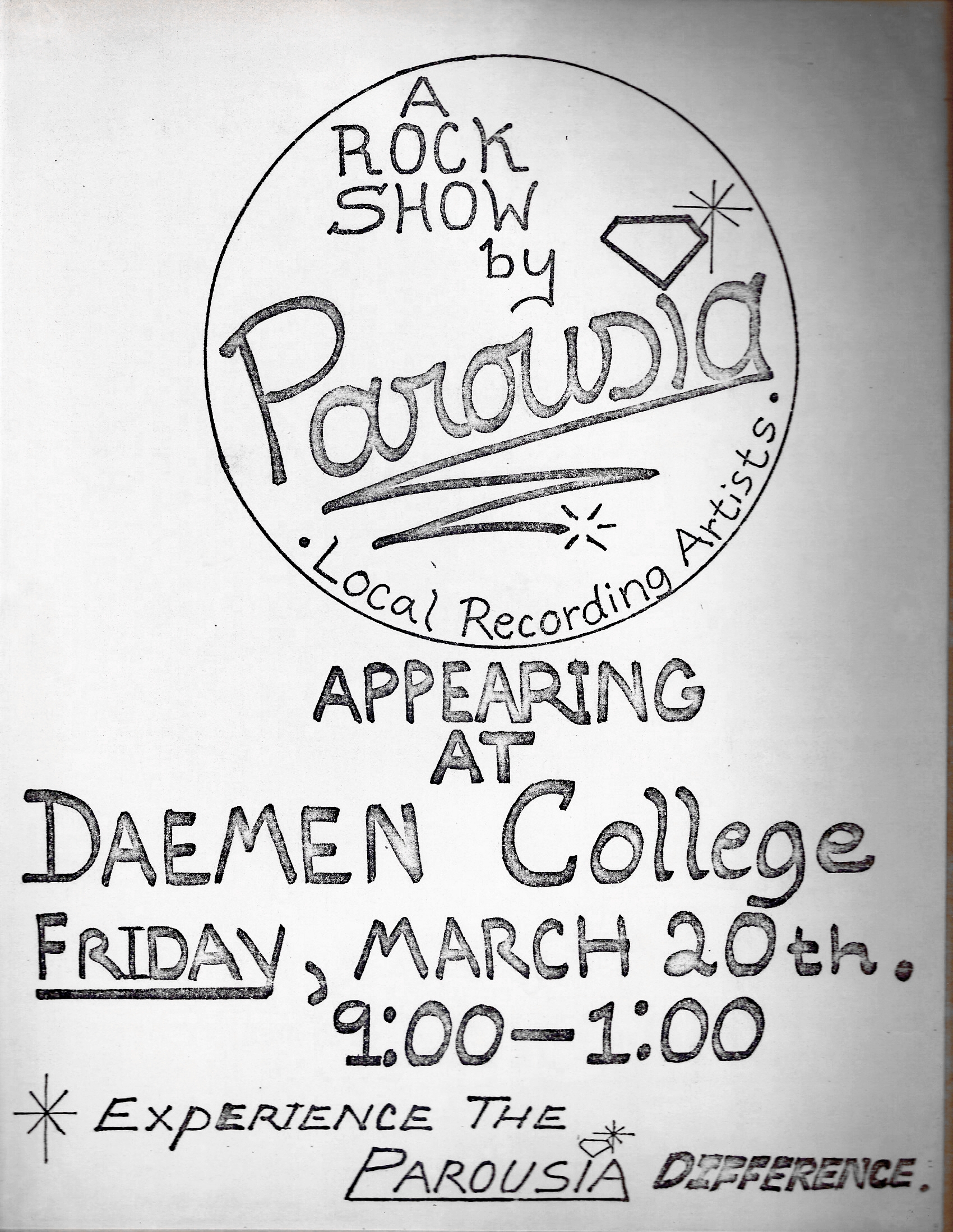 Daemen College - Friday, 03.20.1981