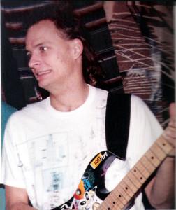 Dudley Taft in his garage - Venice Beach 1989