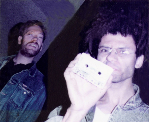 Eric Scheda and Bob Lowden - Rusk Studios Hollywood, CA. 1988