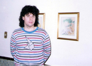 Gerry Cannizzaro 1989 (shirt by Kim Montesano)