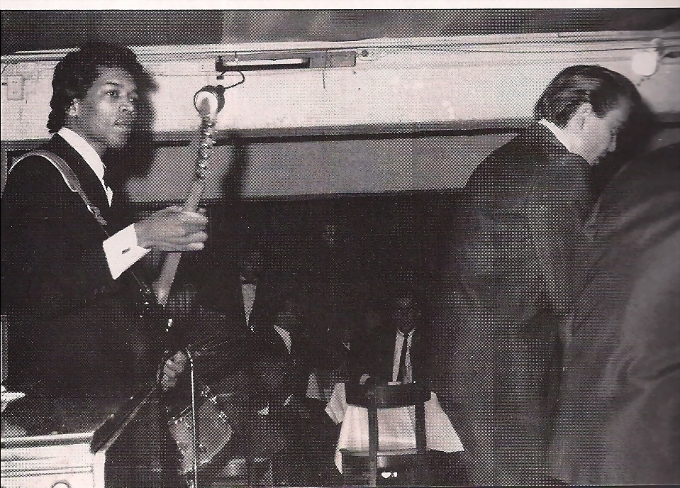 Jimi Hendrix with Joey Dee and the Starliters Nov. 1965