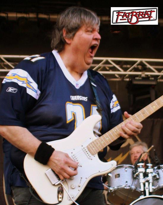 Guitarist Ken Wilczak of Fat Brat