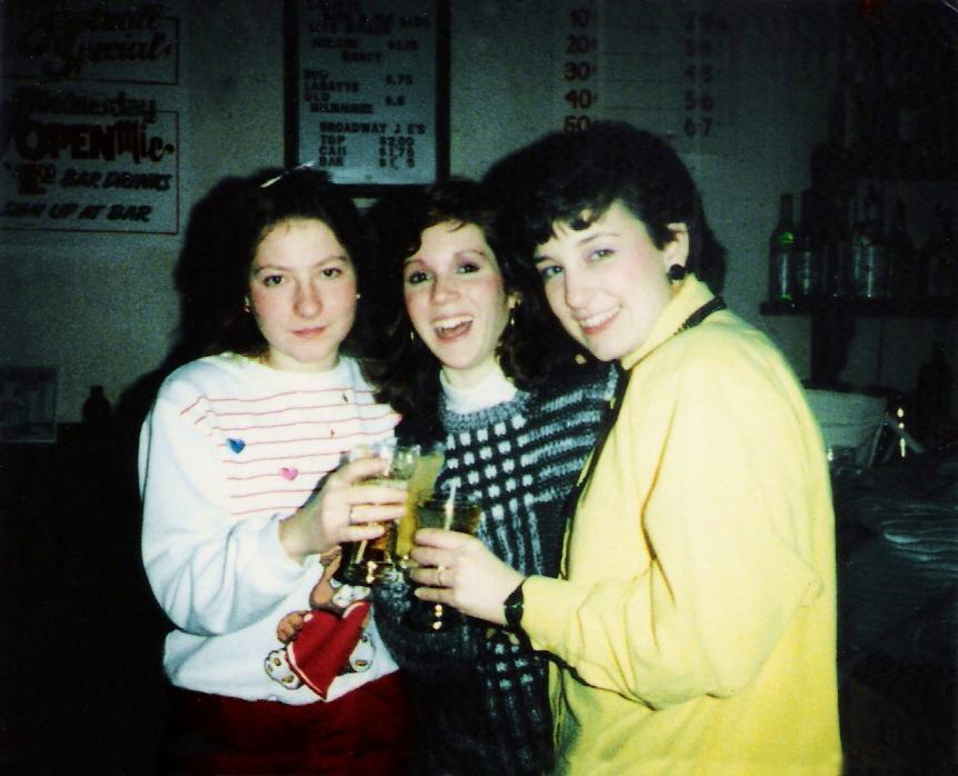 Kim Montesano (far right) & Friends