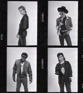 Parousia Photo session - 1988 Hollywood, CA