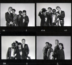 Patt Connolly, Robert Lowden, Bill Simms and Gerry N. Cannizzaro - Parousia Photo session - 1988 Hollywood, CA