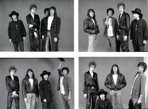 Patt Connolly, Robert Lowden, Marty Leggett, Gerry. N. Cannizzaro - Parousia photo session 1989