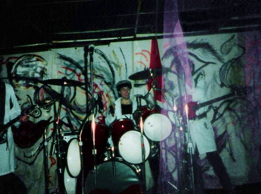 Love, Lust & Wreckage show. 02.14.86 at Broadway Joe's
