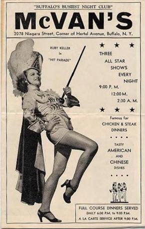 McVan's Brochure circa 1950