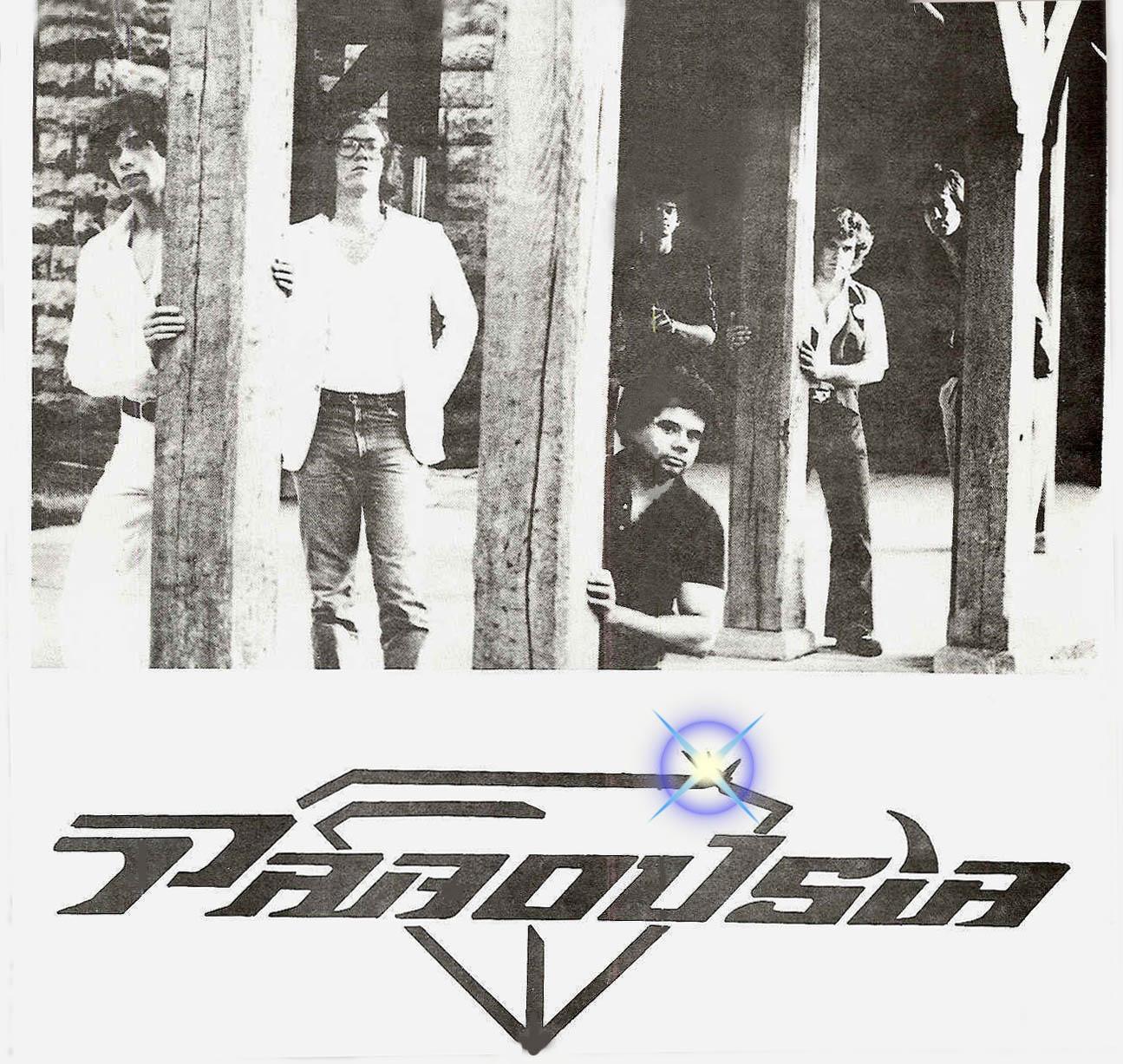 Parousia Most Unique Rock Show Flyer 1981-1982