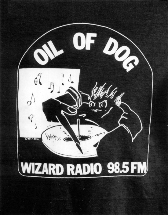 Oil of Dog Logo