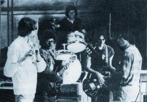 Parousia Band Shot - 1976 - Student Prints newspaper