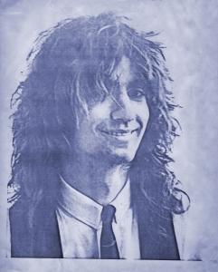 Garth Huels - Parousia photo session - Elmwood Art Gallery May 4, 1980