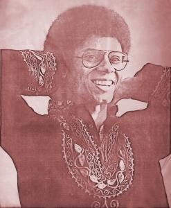 Robert Lowden - Parousia photo session - Elmwood Art Gallery May 4, 1980