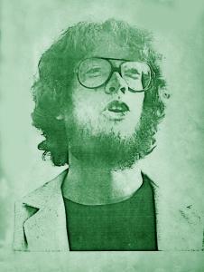 Eric Scheda - Parousia photo session - Elmwood Art Gallery May 4, 1980