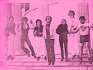 Parousia photo session - Elmwood Art Gallery May 4, 1980