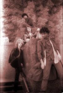 Parousia photo session McArthur Park Jan. 1989