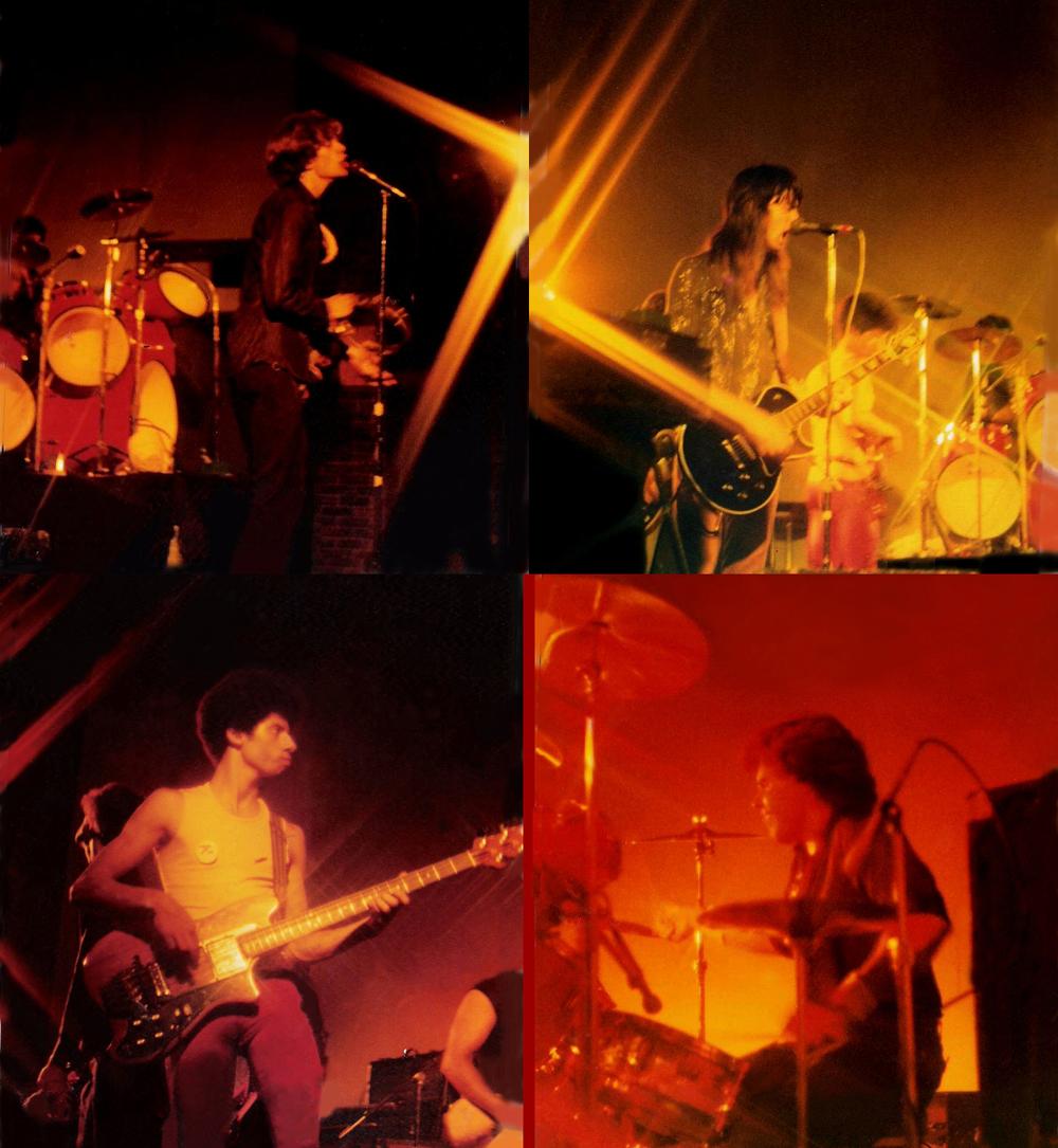 PAROUSIA live at Buffalo State College, Sept. 1981